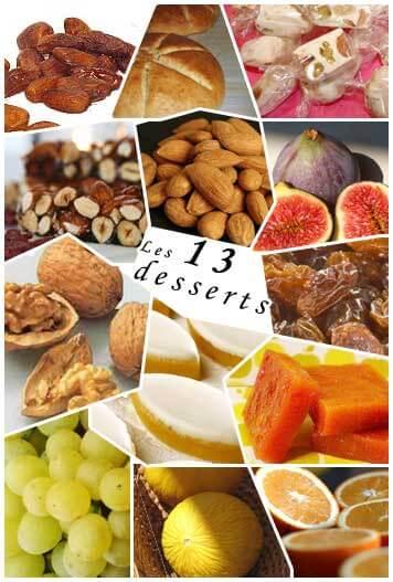 13 desserts de Noël