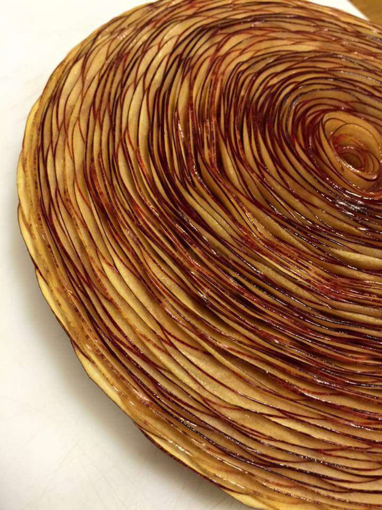 Tarte aux pommes de ma grand mère by Vincent Catala Chef Pâtissier & Cuisinier/French Private Kitchen & Pastry Chef - Catering in Miami