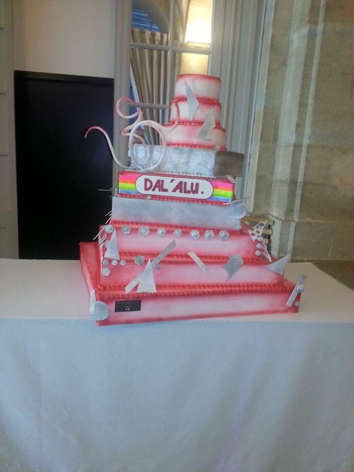 Pièce artistique mariage - wedding cake by Vincent Catala