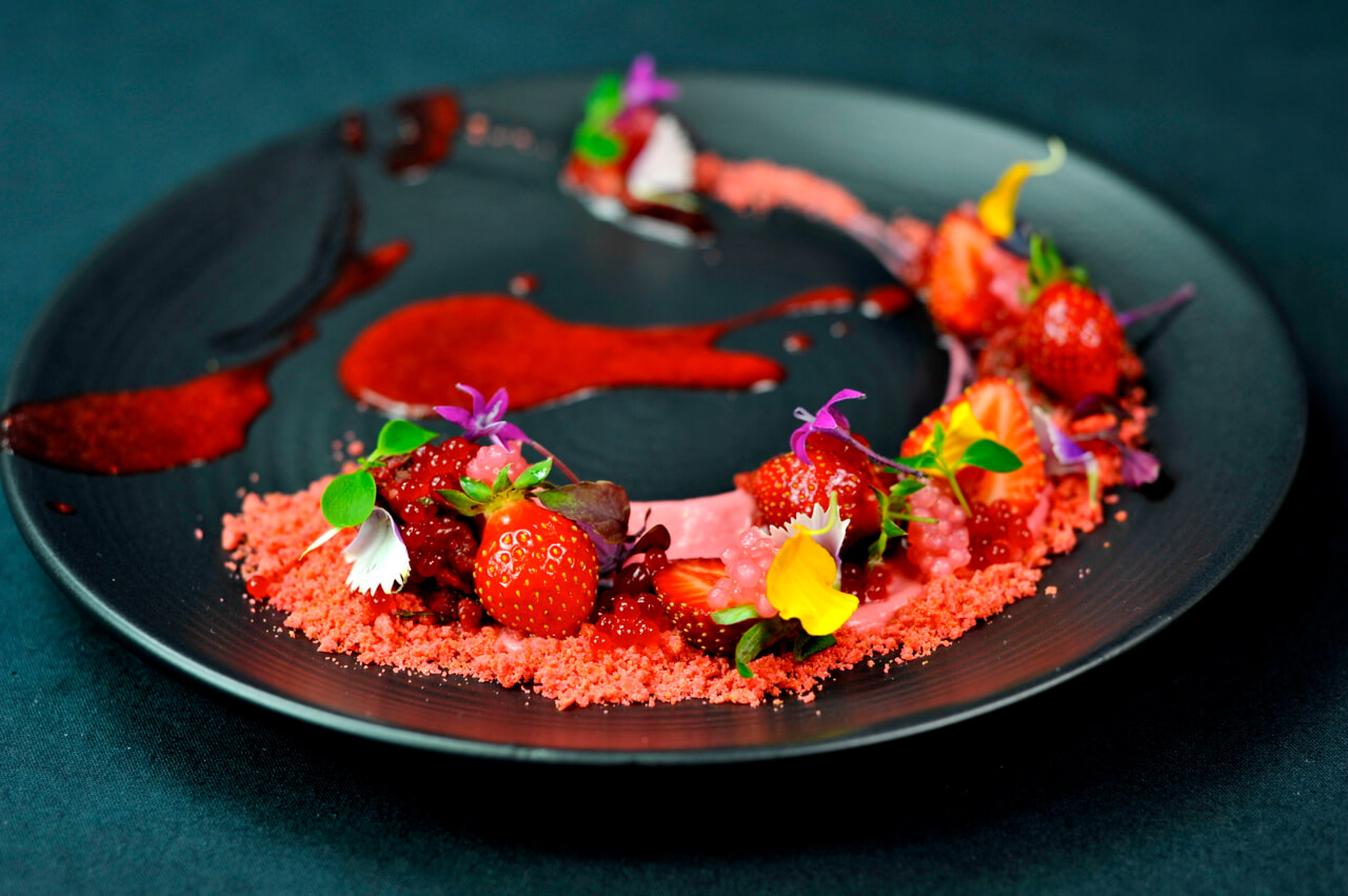 Fraisier by Vincent Catala Chef Pâtissier & Cuisinier/French Private Cuisine & Pastry Chef - Catering in Miami