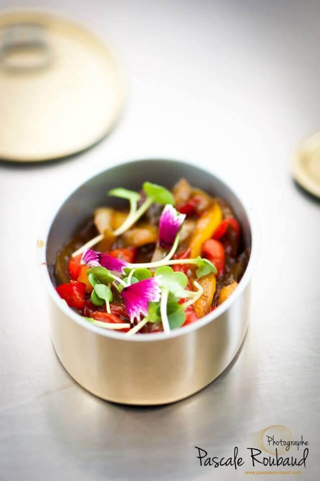 Dessert autour du poivron by Vincent Catala Chef Pâtissier & Cuisinier/French Private Cuisine & Pastry Chef - Catering in Miami