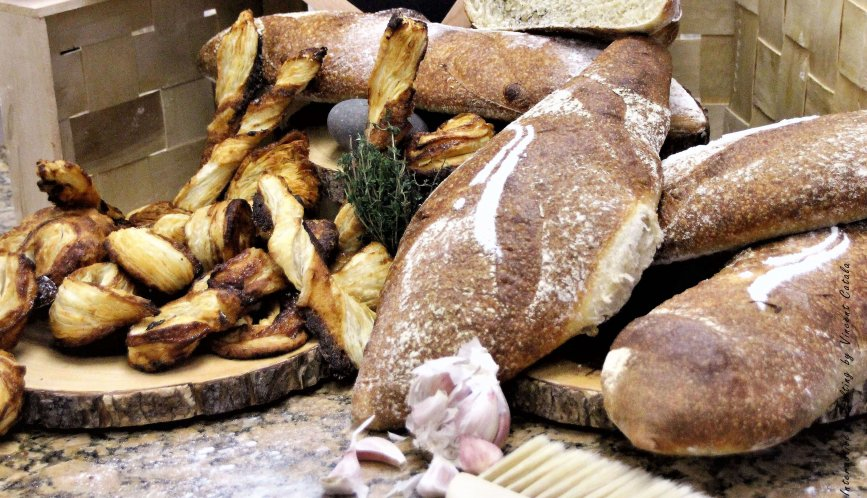 Different types of French Breads