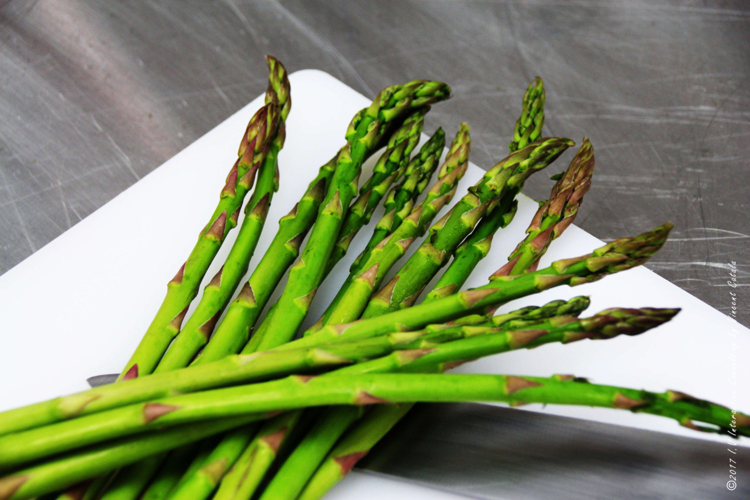 Asperges - asparagus by Vincent Catala Chef Pâtissier & Cuisinier French Private Cuisine & Pastry Chef - Catering in Miami