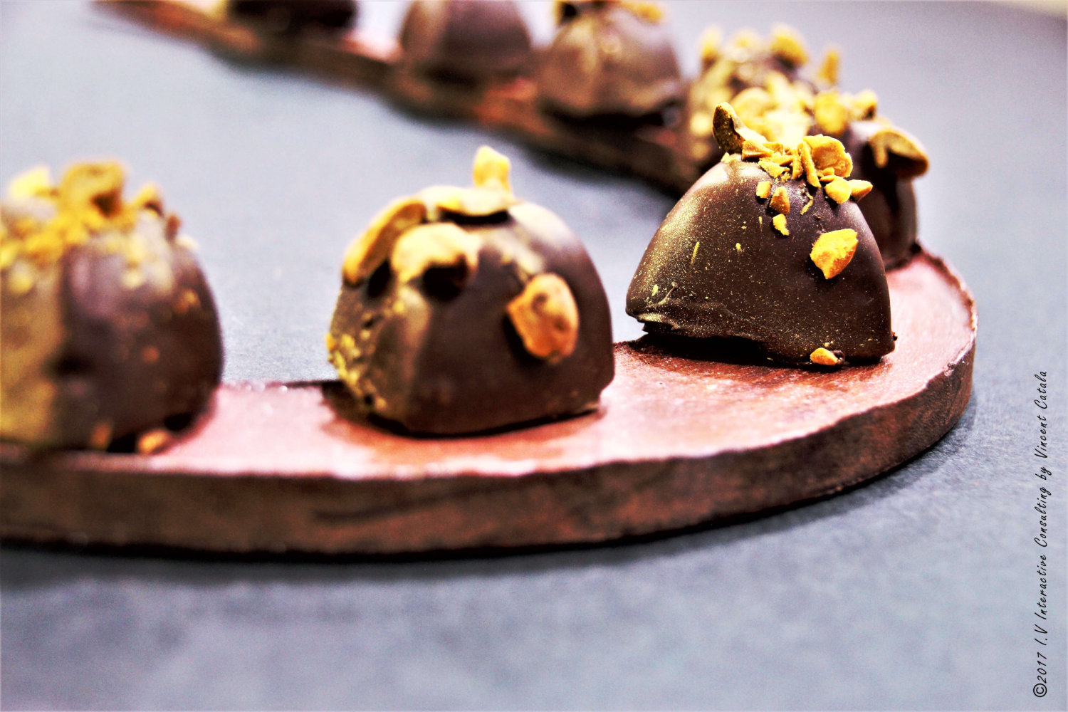 Rochet chocolat by Vincent Catala Chef Pâtissier & Cuisinier French Private Cuisine & Pastry Chef - Catering in Miami