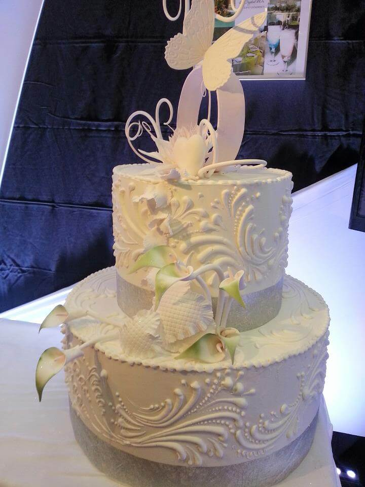 Pièce artistique mariage - wedding cake by Vincent Catala Chef Pâtissier & Cuisinier/French Private Kitchen & Pastry Chef - Catering in Miami