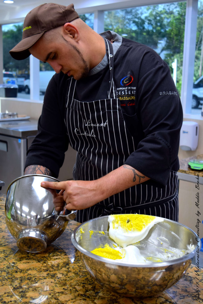 Macaronage macarons by Vincent Catala Chef Pâtissier & Cuisinier/French Private Cuisine & Pastry Chef - Catering in Miami