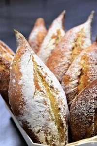 Garlic-Sage Bread by Vincent Catala Chef Pâtissier & Cuisinier/French Private Cuisine & Pastry Chef - Catering in Miami